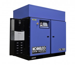 Kobelco rotary screw air compressor