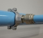 aluminum compressed air piping
