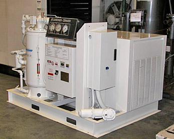 air compressor service rebuild after