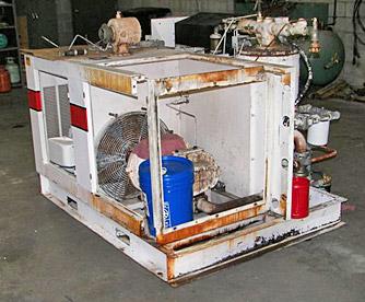 air compressor service rebuild before