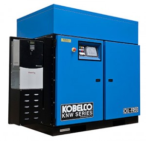 Kobelco KNW Oil Free Rotary Screw Compressor