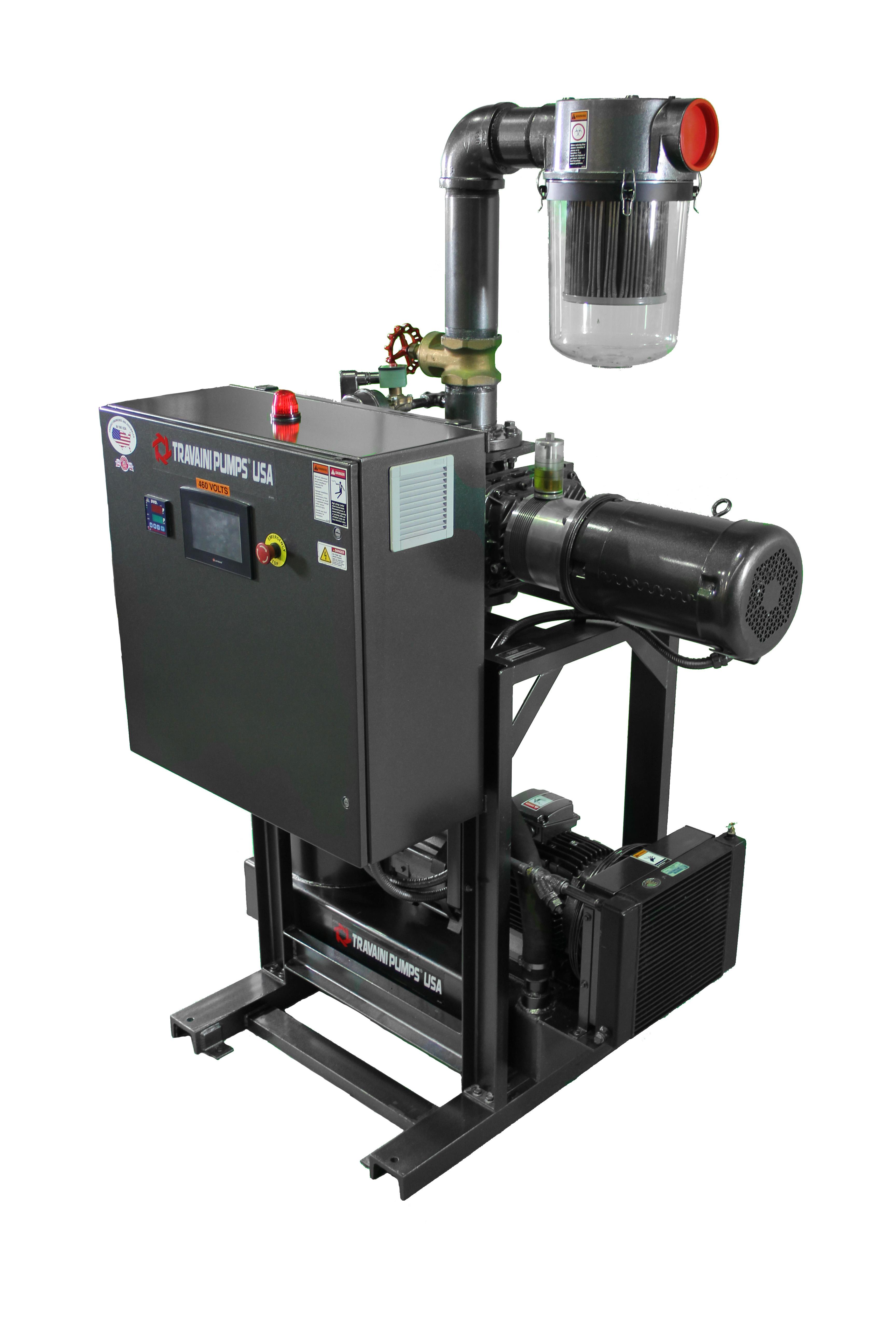 The New Traviani High Vacuum Pump