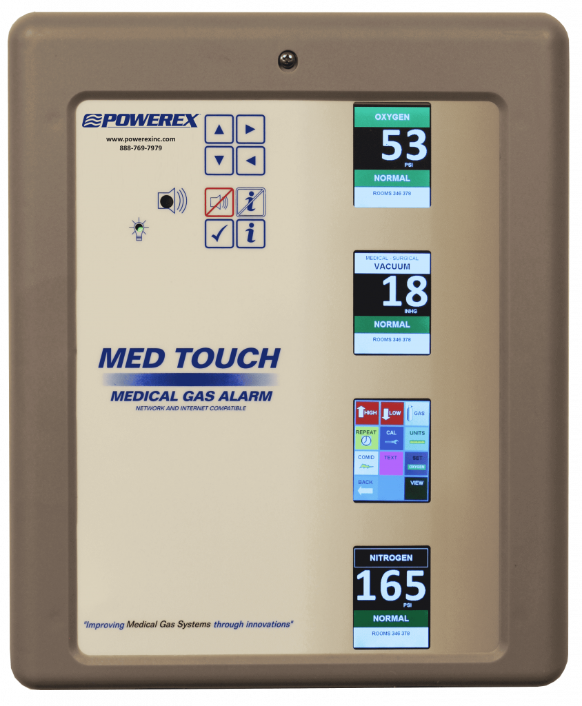 Powerex MedTouch Series Alarms